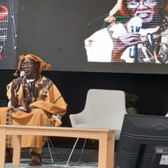 The masterclass of Souleymane Cissé in Dakar